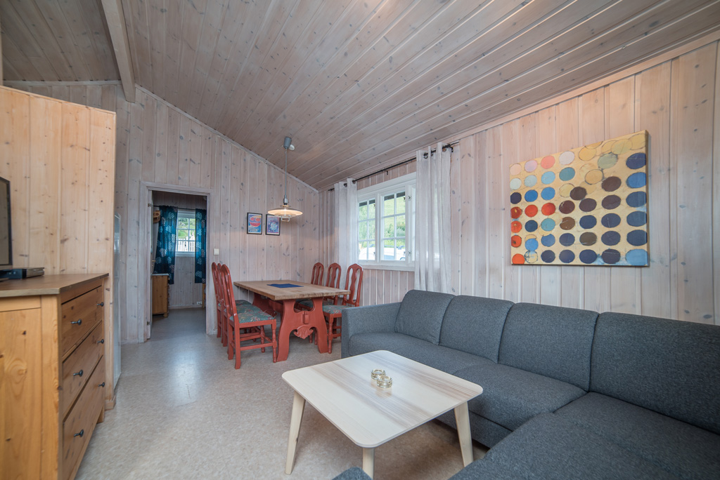 Pluscamp Mageli Camping, Hytte for 6 personer med bad