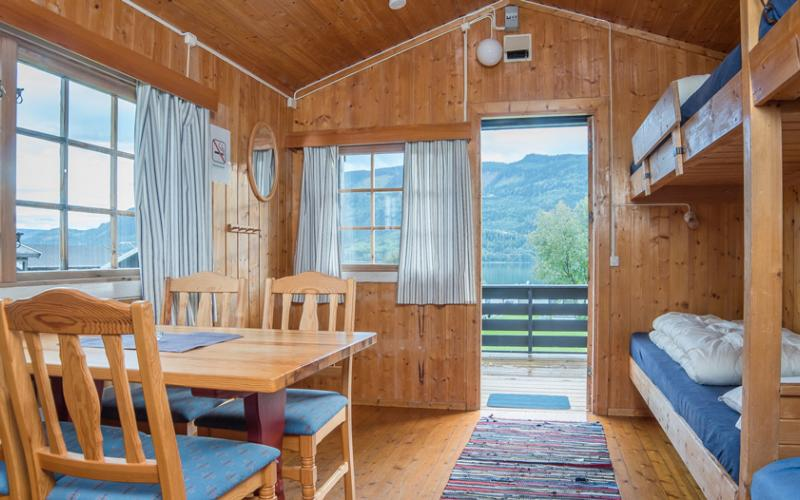 Pluscamp Mageli Camping, Mellomstor hytte