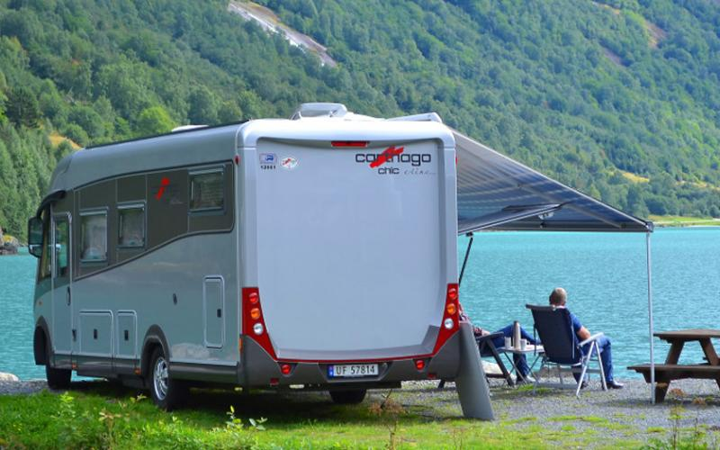 Pluscamp Sande Camping, Camping