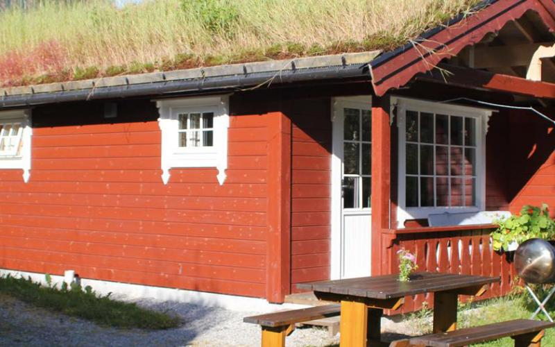 Pluscamp Strynsvatn Camping, Cottage for 4 persons, high standard