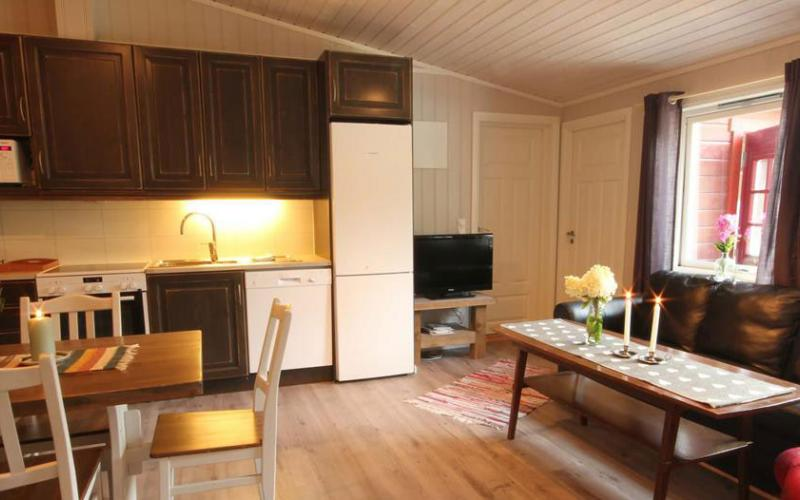 Pluscamp Strynsvatn Camping, Apartment, high standard, 4 persons
